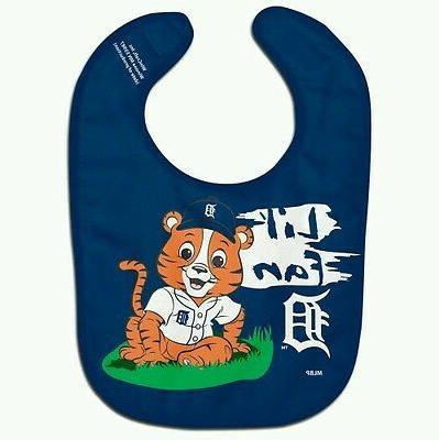 detroit tigers lil fan baby bib free