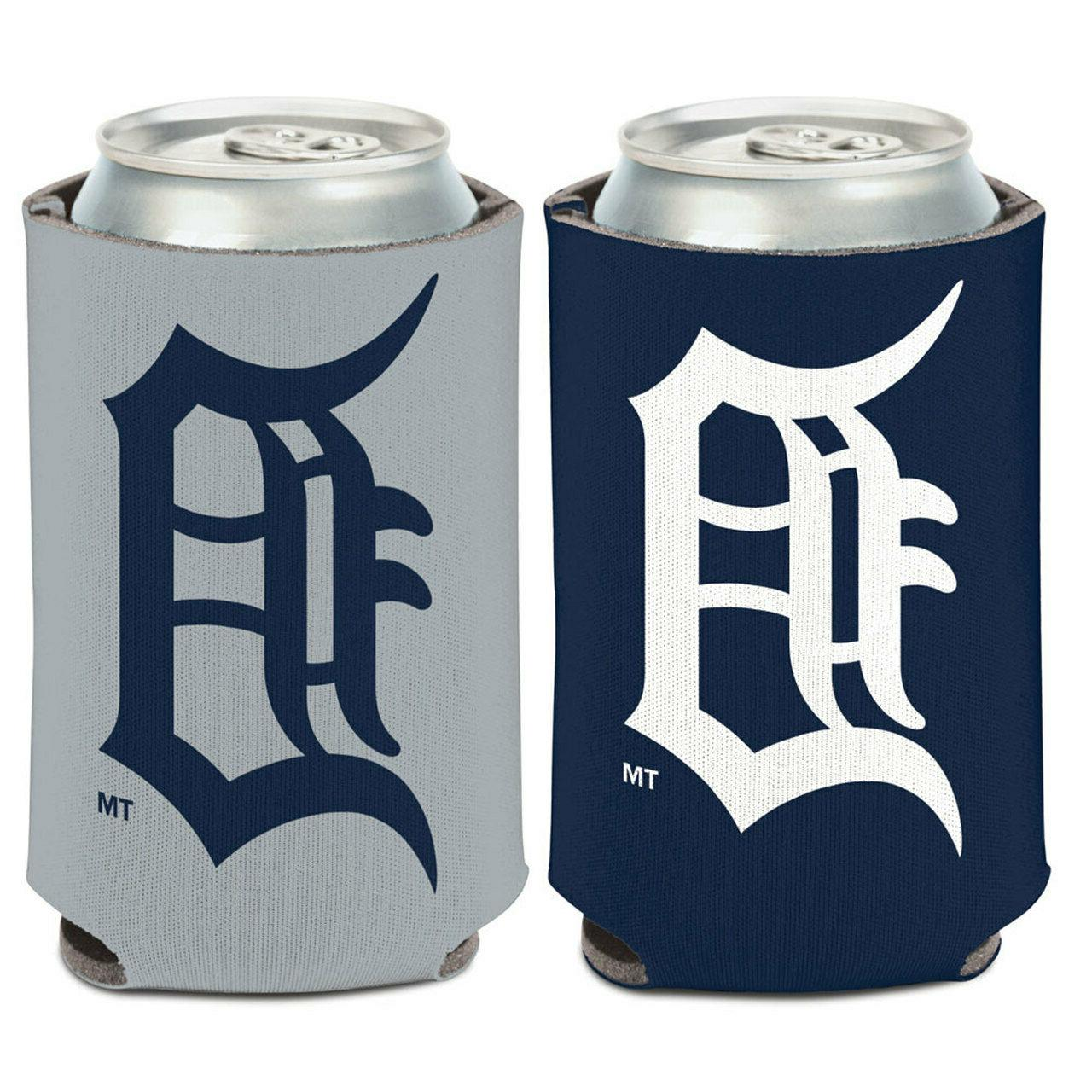 detroit tigers logo can cooler 12oz collapsible