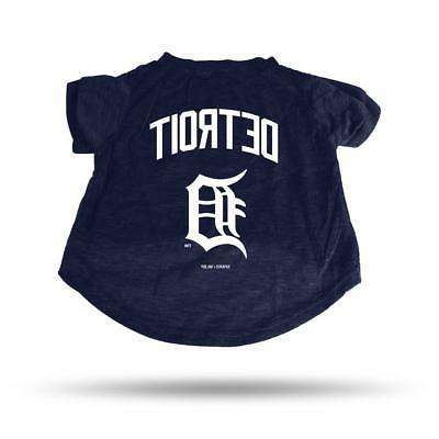 detroit tigers medium pet tee shirt new