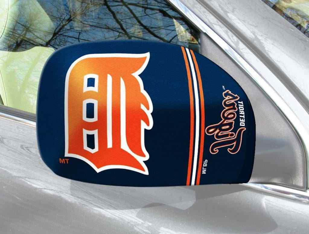 detroit tigers mirror covers small car truck