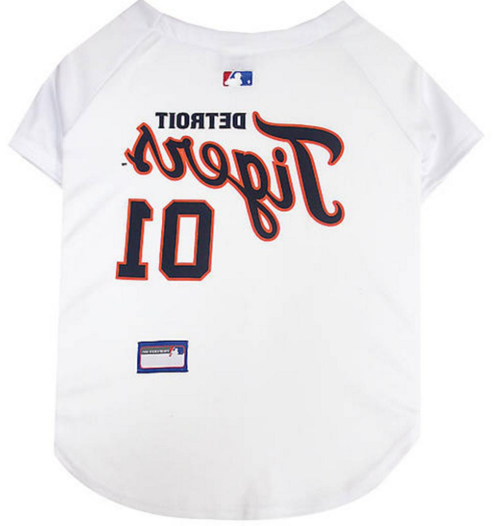 detroit tigers mlb authentic officially licensed dog