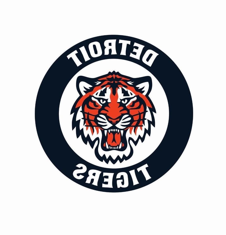 detroit tigers mlb baseball color logo sports