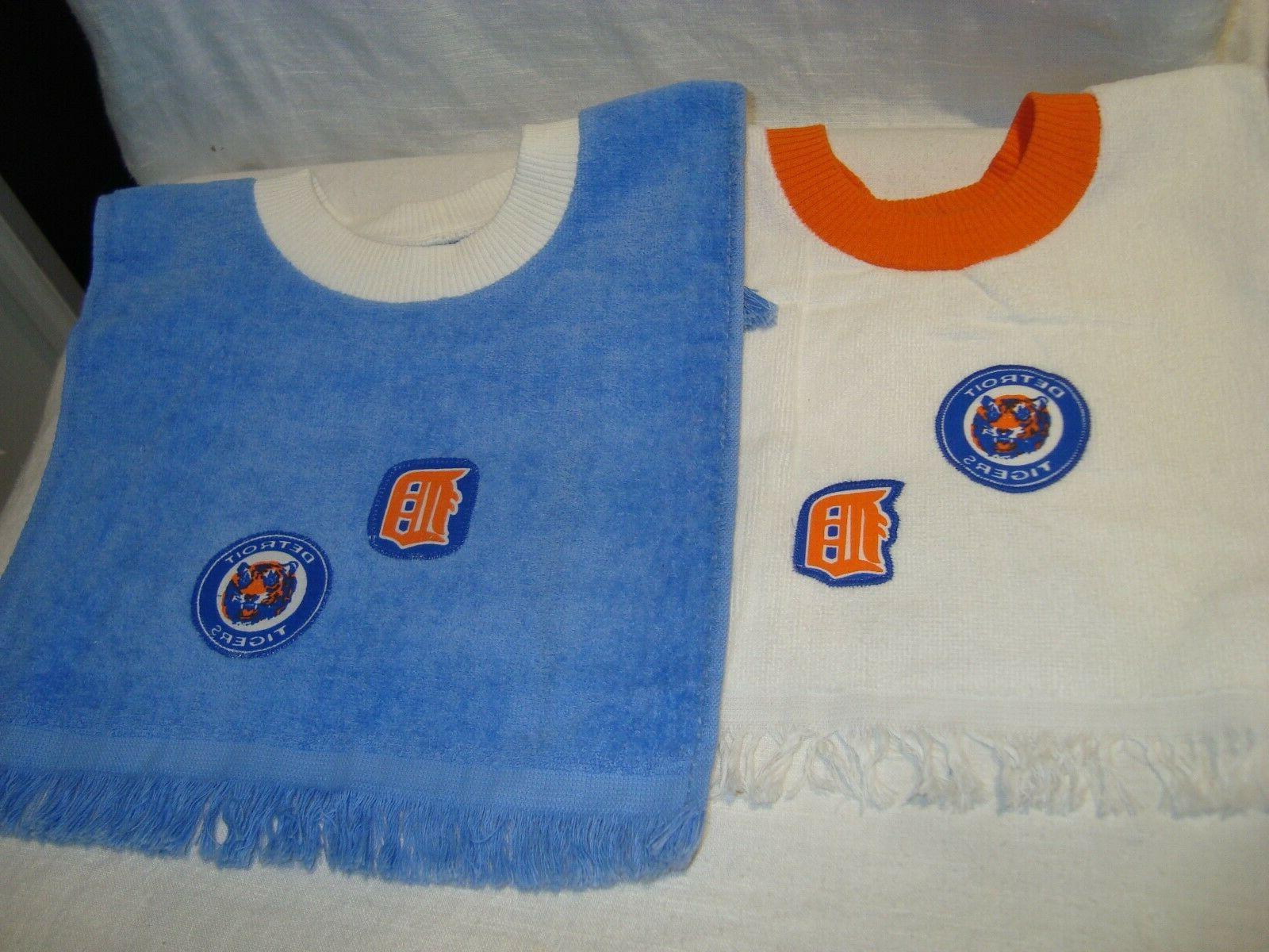 detroit tigers mlb baseball handmade tea towel