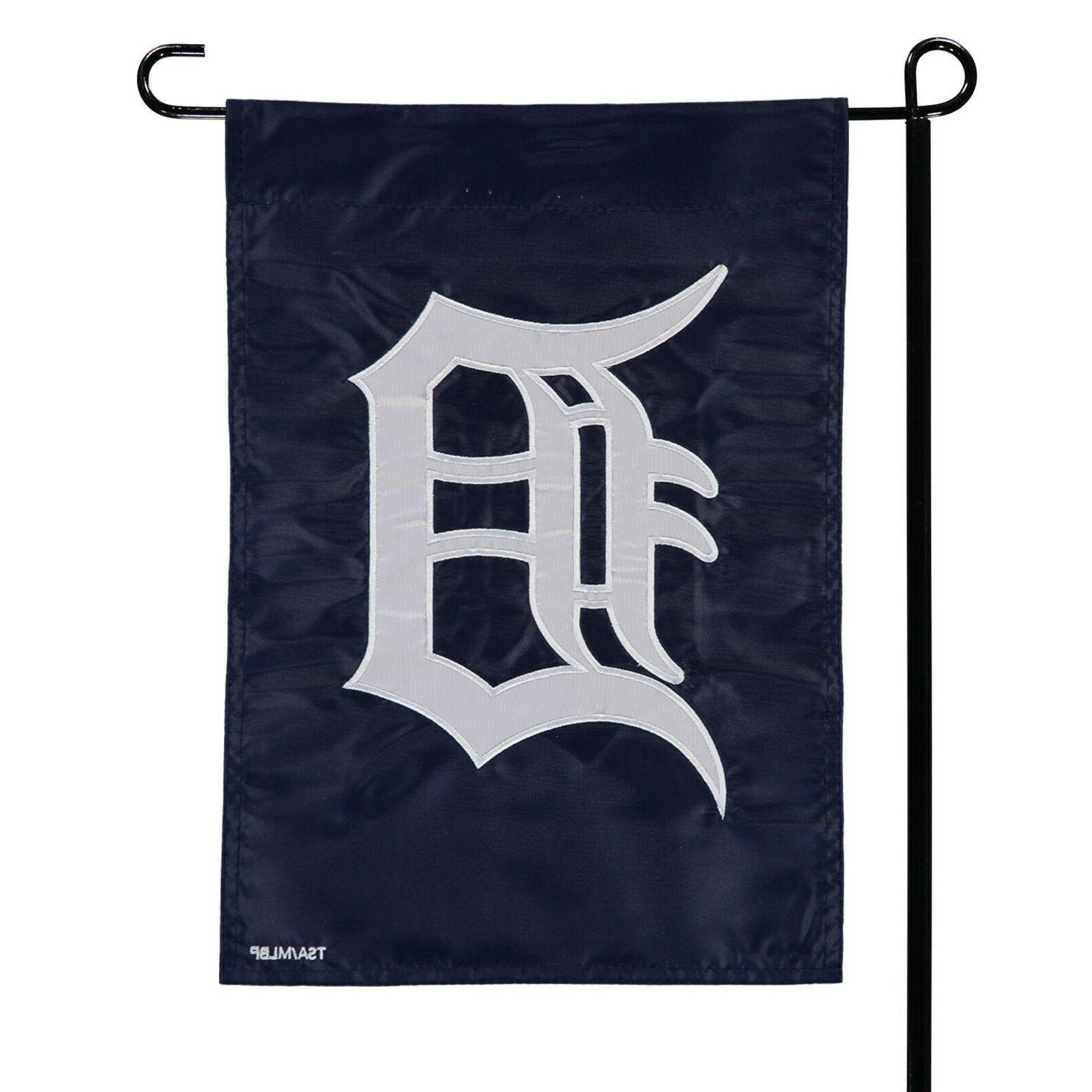 detroit tigers mlb garden window flag new