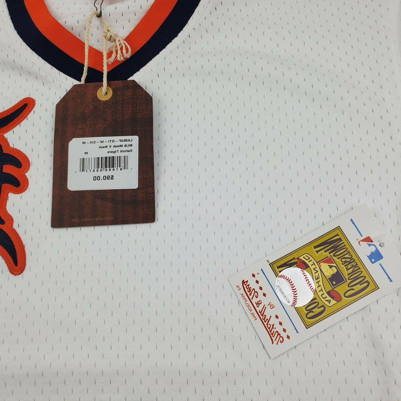 Detroit Tigers & Ness Jersey