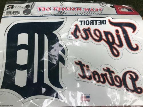 detroit tigers multi die cut magnet sheet