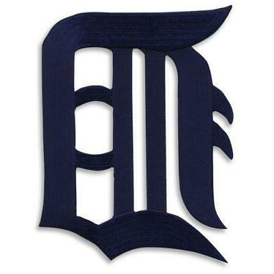 detroit tigers old english letter d logo