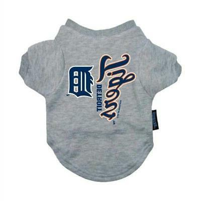detroit tigers pet t shirt