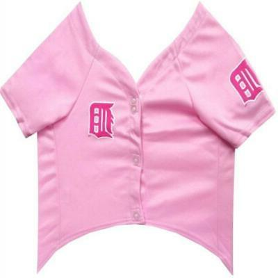 Detroit Tigers Pink Jersey