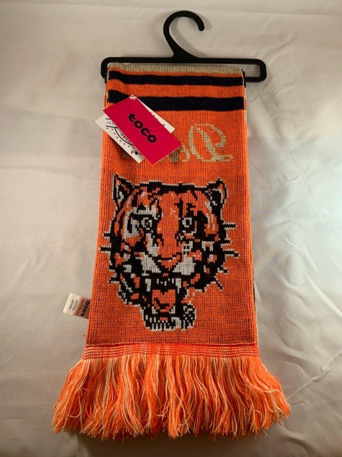 detroit tigers scarf major league genuine new