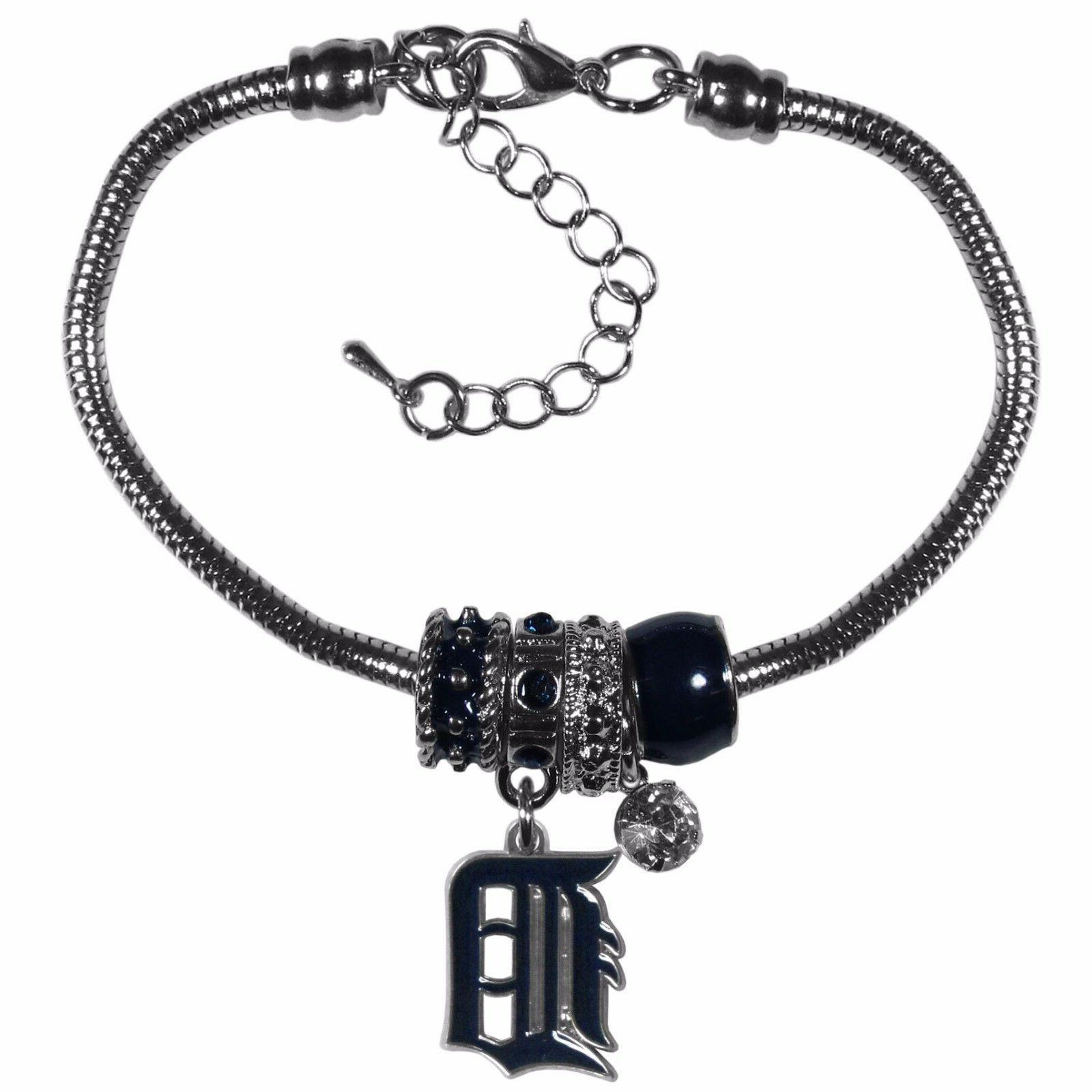 detroit tigers snake chain bracelet