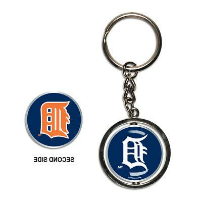 detroit tigers spinner keychain new