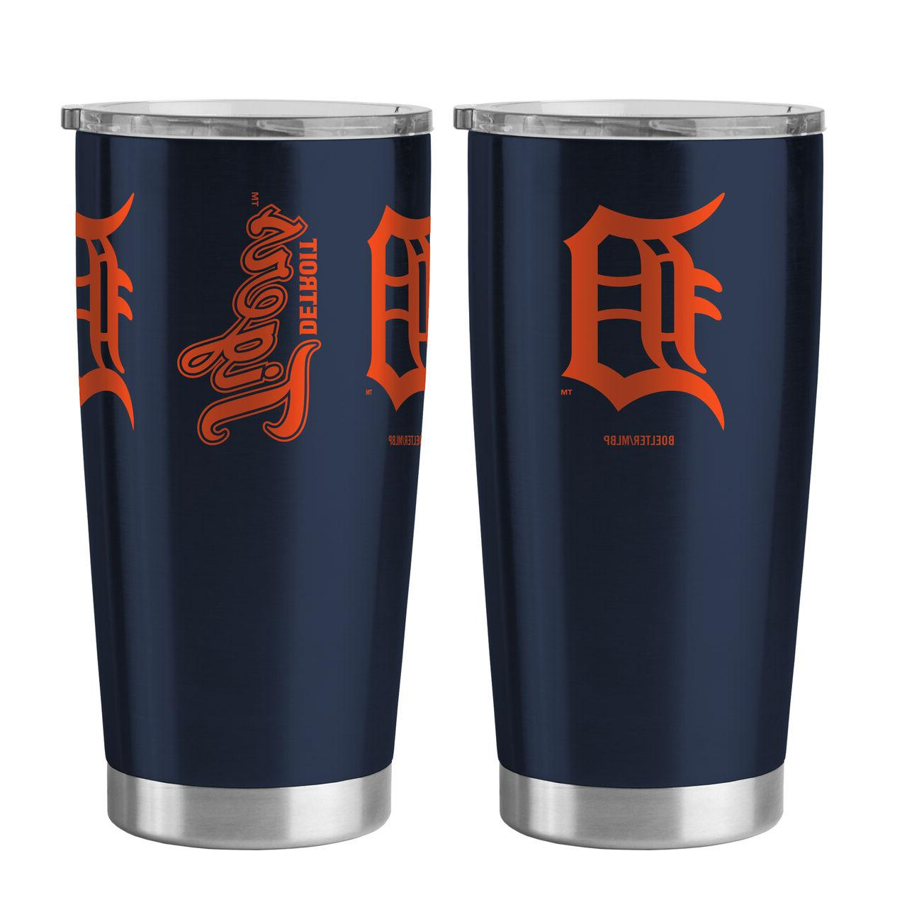 detroit tigers travel tumbler 20oz ultra new