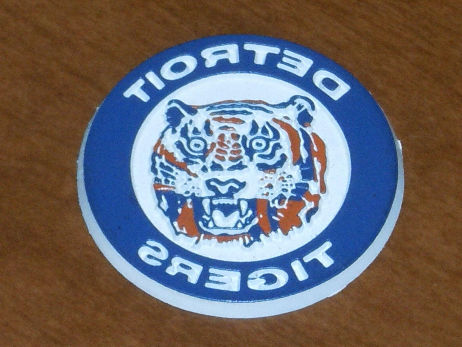 mlb vintage detroit tigers old rubber baseball