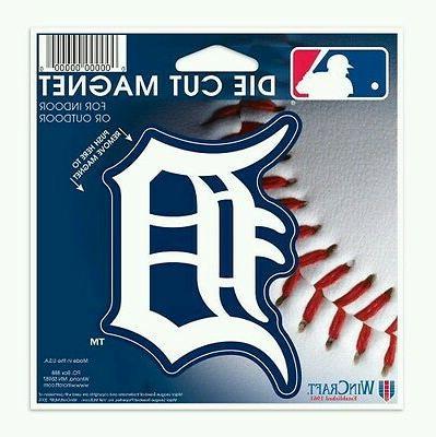 detroit tigers vinyl die cut logo magnet