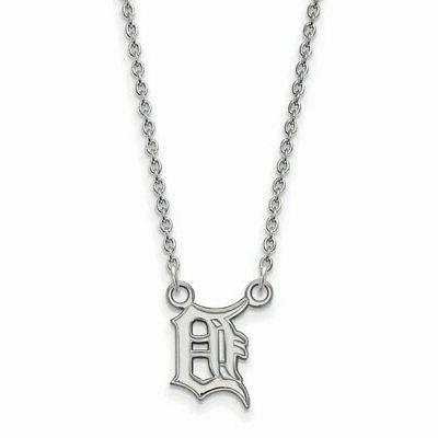 detroit tigers women s small sterling silver