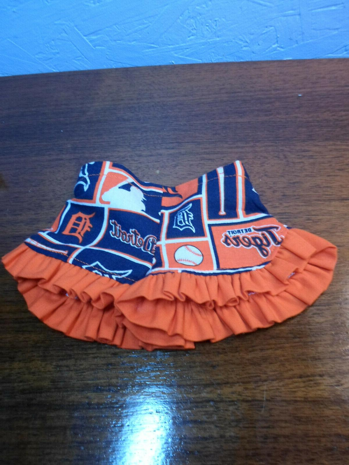 doll shorts 18 inch homemade detroit tigers