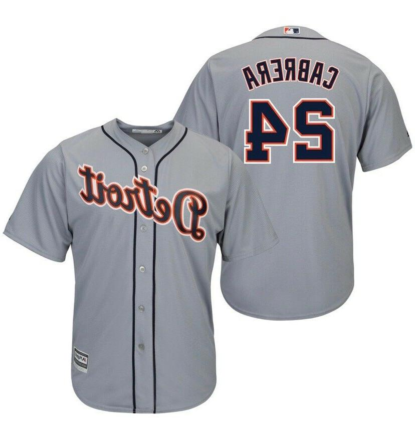 miguel cabrera detroit tigers gray and orange