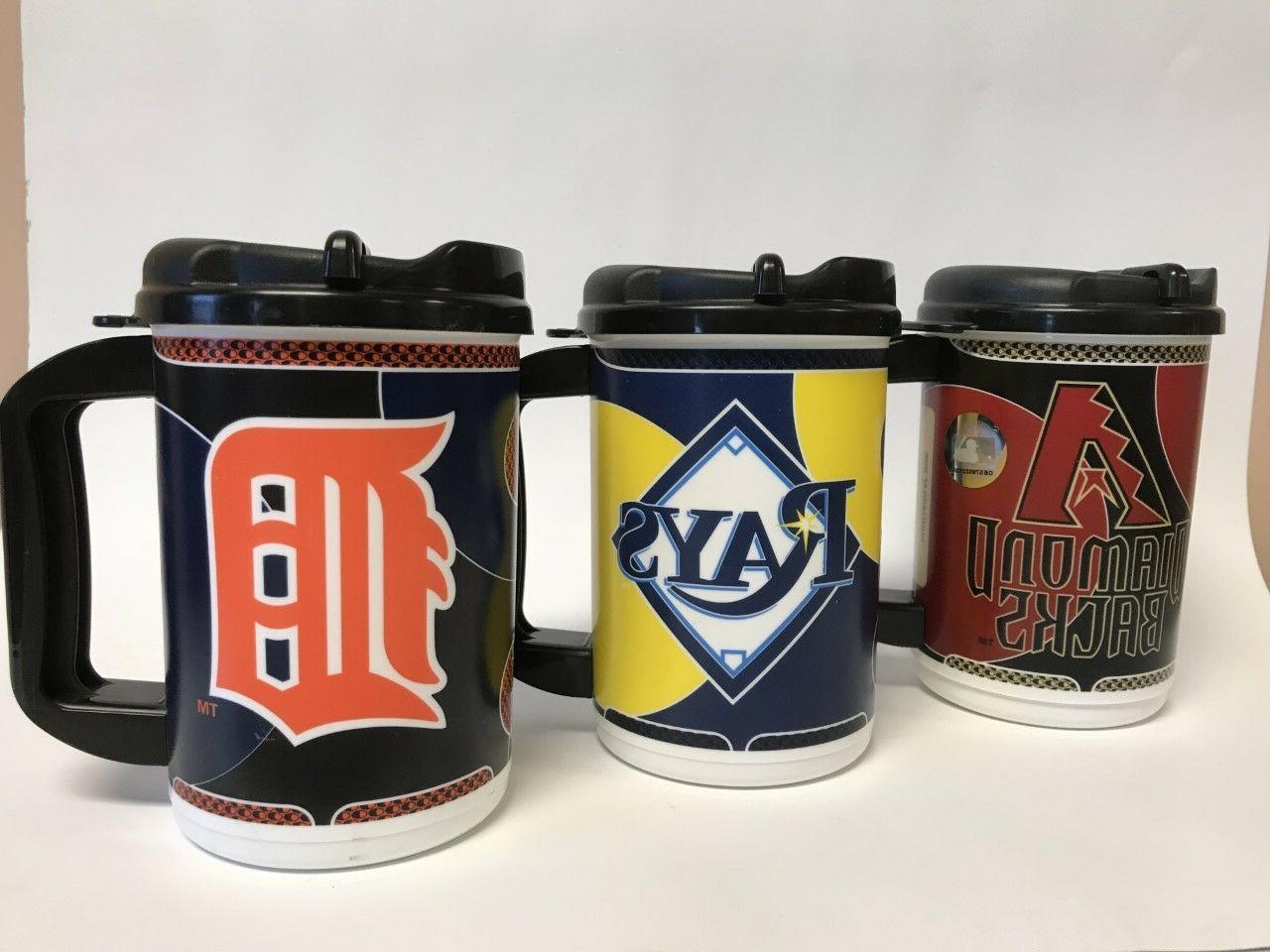 mlb 20 oz travel mug with lid