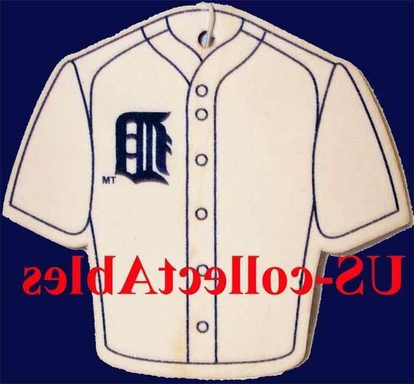 mlb detroit tigers baseball jersey air freshener
