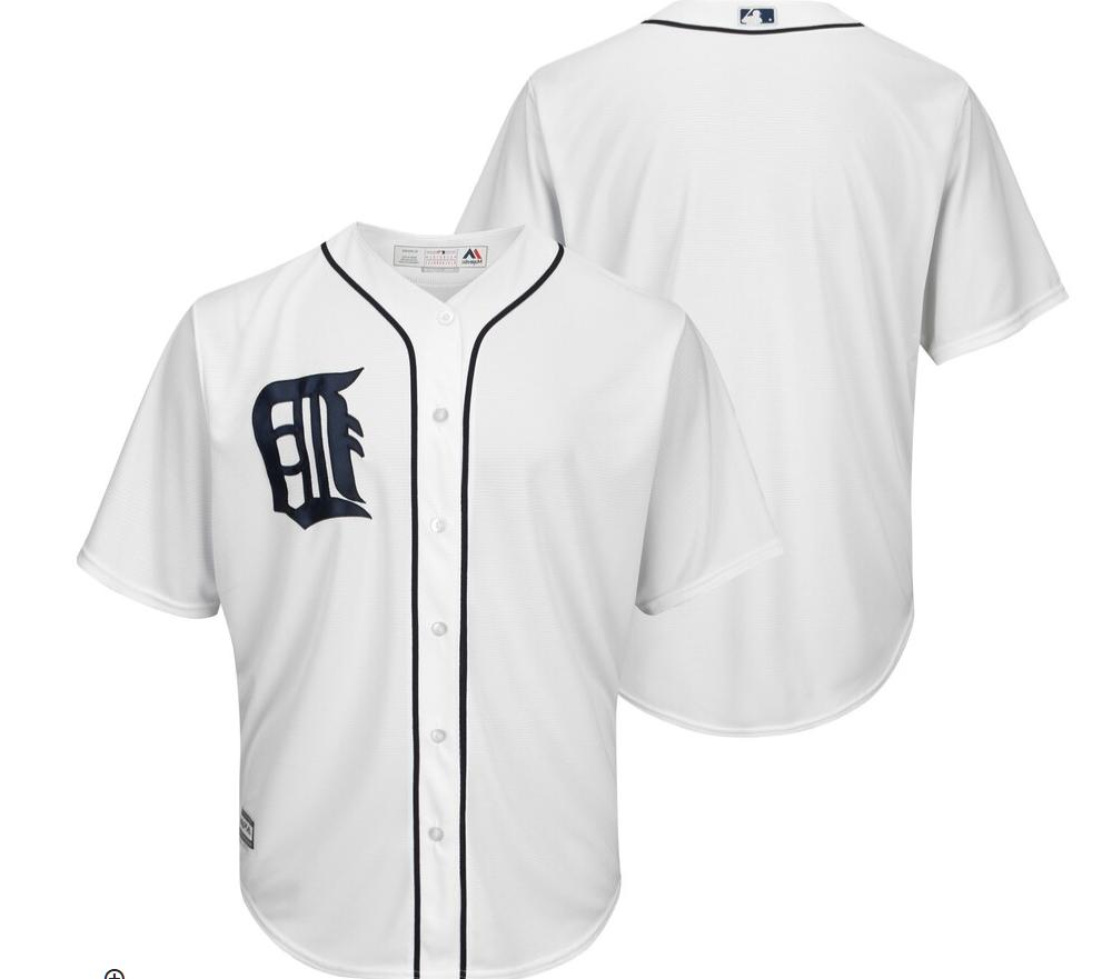 mlb detroit tigers baseball jersey new mens
