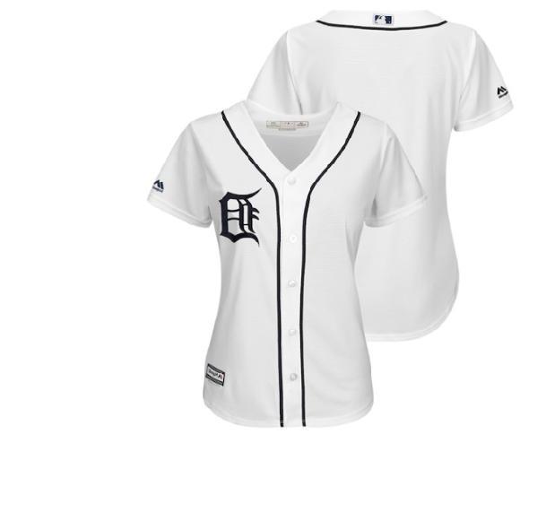 mlb detroit tigers baseball jersey new womens