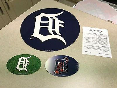 mlb detroit tigers baseball team logo car