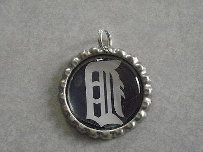 mlb detroit tigers bottle cap charm