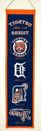 MLB Detroit Tigers Heritage Banner
