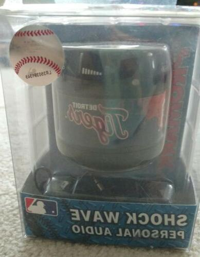 mlb detroit tigers shock wave personal audio