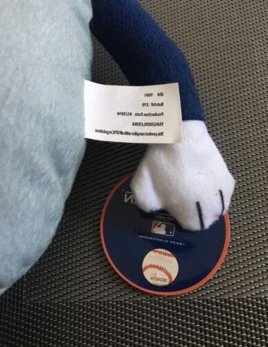 "NWT MLB Rallymen League Baseball Detroit Tigers Plush Minion 15"" Epic"
