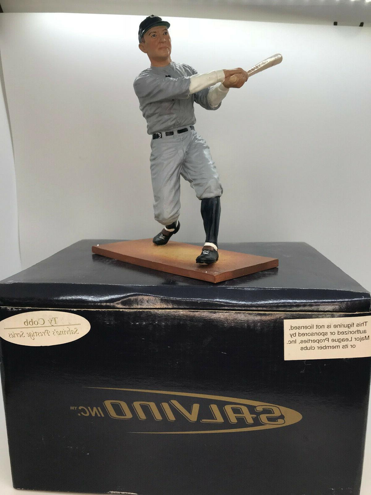 Salvino Prestige Cobb Detroit Tigers Figure Figurine NIB
