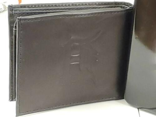Sports Bifold Leather Wallet Case Crate