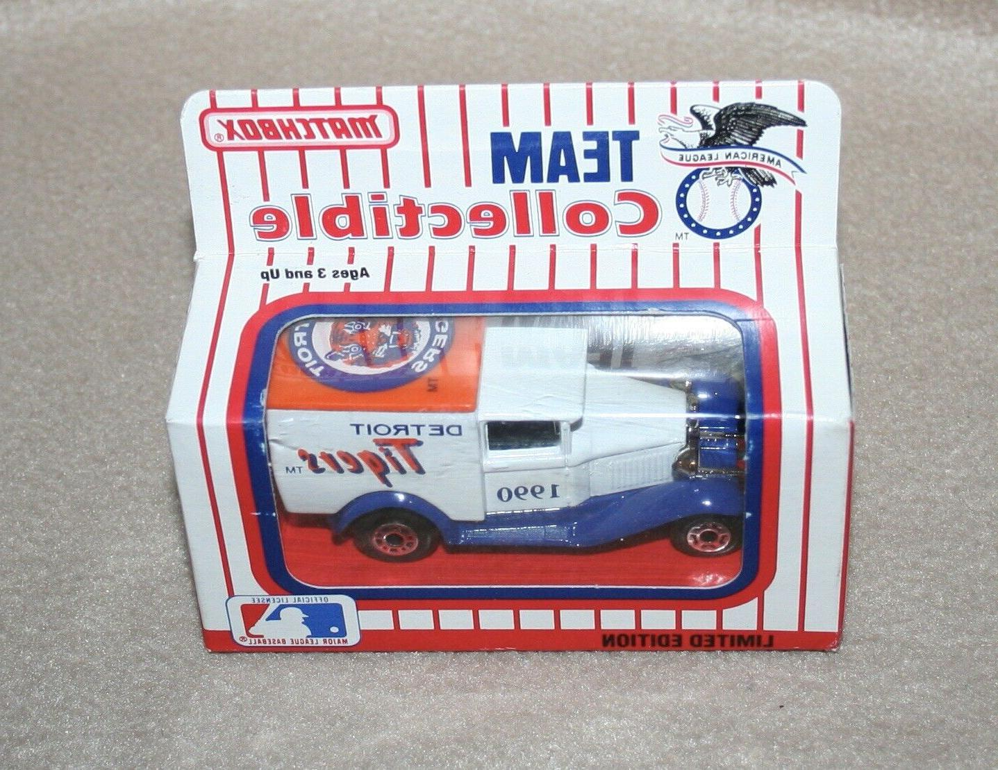 Matchbox Team Collectible Detroit Tigers