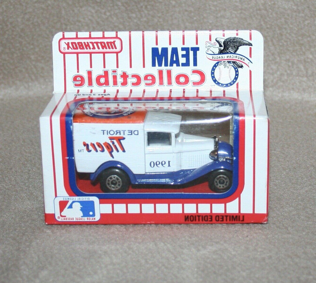 team collectible 1990 detroit tigers delivery van