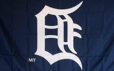 tigers banner flag baseball logo 3 x