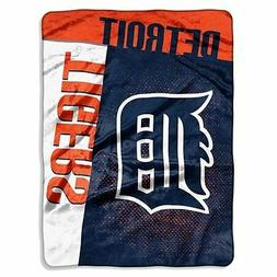 Licensed MLB Baseball Detroit Tigers Twin Size Plush Soft Ra