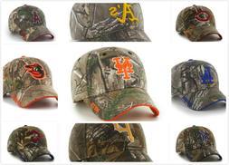 Men MLB Camouflage Baseball Adjustable Hat  Cap