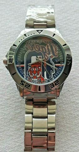 Men's Detroit Tigers Wrist Watch Still Has Protective Film O