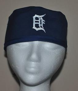Men's MLB Detroit Tigers Embroidered Scrub Cap/Hat - One Siz