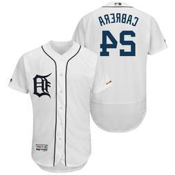 Miguel Cabrera Detroit Tigers White Classic Flex Base Baseba
