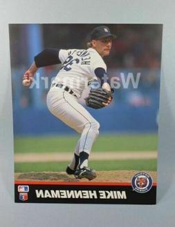 Mike Henneman Detroit Tigers MLB 8x10 Baseball Picture T&M S