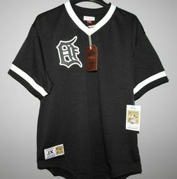 mitchell and ness detroit tigers baseball jersey