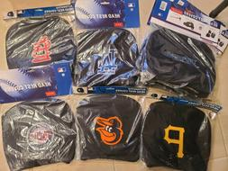 MLB Auto Head Rest Covers {Pair} Car Seat Headrest - Pick Te