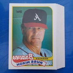 MLB Baseball 1989 Topps Team Sets - NM/MT