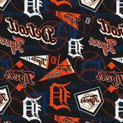 MLB Baseball Detroit Tigers Distressed Look 2018 18x29 Cotto