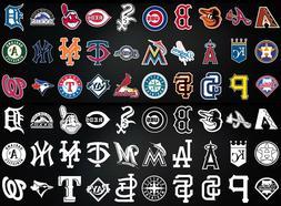 MLB Baseball window bumper sticker vinyl decals