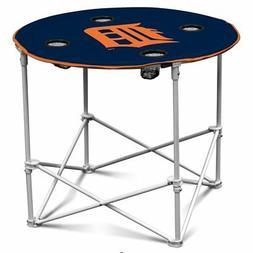 MLB Detroit Tigers 30x24'' Round Folding Camping/Tailgating