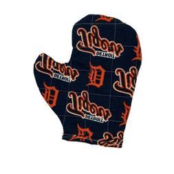 MLB Detroit Tigers Baseball Oven Mitt Potholder New