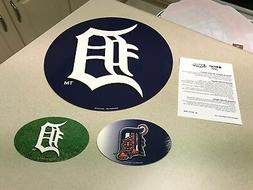 MLB Detroit Tigers Baseball Team Logo Car / Truck Magnet Set